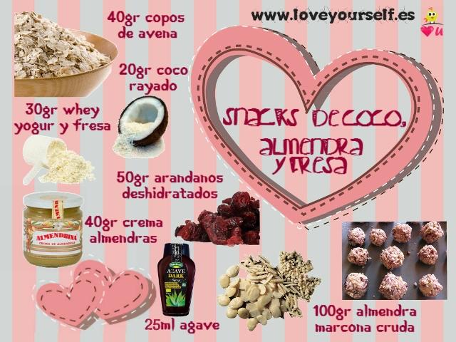almendra, coco y fresa web
