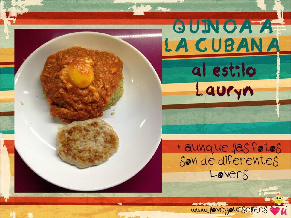Quinoa a la cubana estilo Lauryn Portada